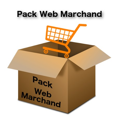 Pack de Com' Web Marchand